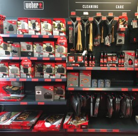 Weber Accessories Display