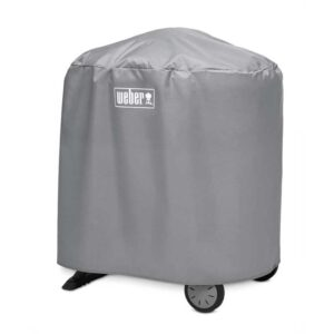 Weber Cover for Q 1000/2000 with stand (Grey)