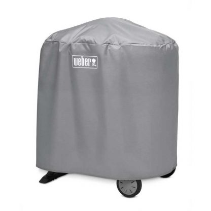 Weber Barbecue Cover for Q 1000/2000 with stand (Grey)