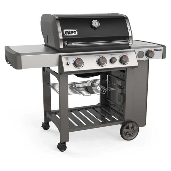 Weber Genesis II E-330 GBS Gas Grill Barbecue (Black)