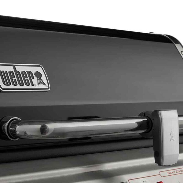 Weber Genesis II EX-335 Barbecue showing the Lid Light