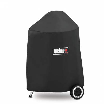 """Weber Barbecue Grill Premium Cover for 47cm / 18"""" Charcoal Barbecues (Black)"""