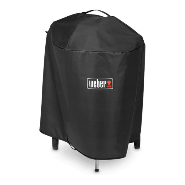 """Weber Premium Barbecue Cover for Master-Touch 57cm / 22"""" with hinged lid & iGrill bracket"""