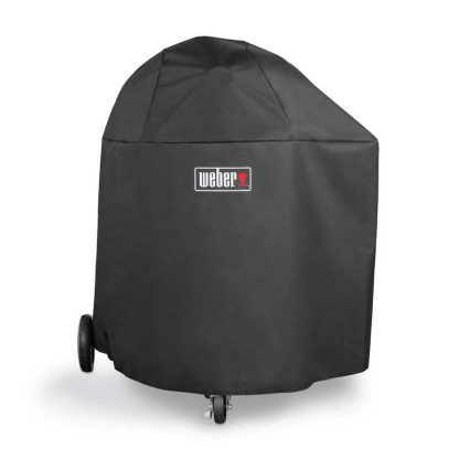 Weber Barbecue Grill Premium Cover for Summit Charcoal (Black)