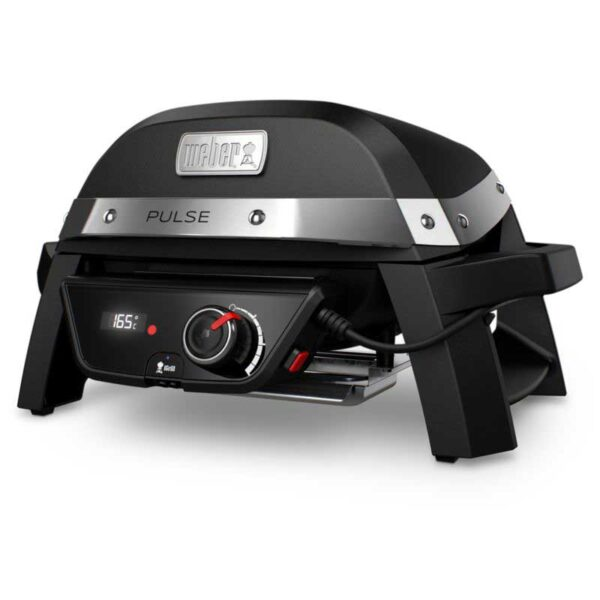 Weber Pulse 1000 Electric Grill Barbecue (Black) #81010074