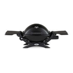 Weber Q 1200 Gas Grill Barbecue (Black)