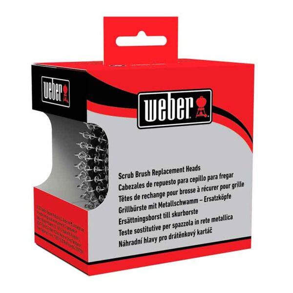 Weber Scrub Brush Replacement Heads (2 Pack)