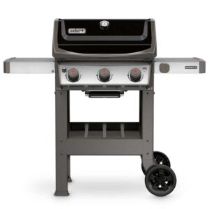 Weber Spirit II E-310 GBS Gas Grill Barbecue (Black)