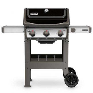 Weber Spirit II E-310 GBS Gas Grill Barbecue (Black)