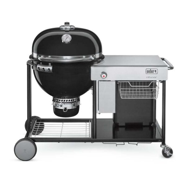 Weber Summit Charcoal Grilling Centre Barbecue 61cm (Black)