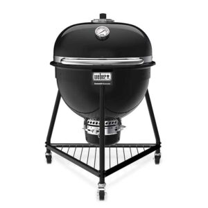 Weber Summit Kamado E6 Charcoal Grill Barbecue 61cm in Black