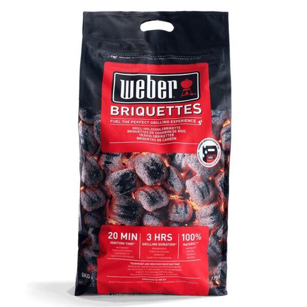Weber 8kg Charcoal Briquettes