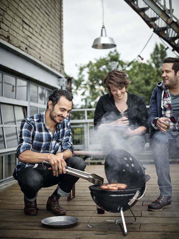 Weber Smokey Joe® Premium Charcoal Barbecue 37cm (Black)