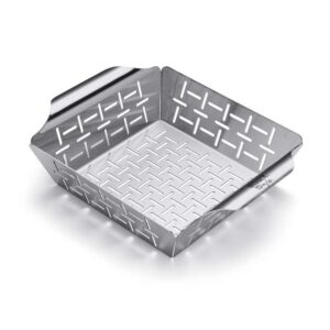 Small Weber Deluxe Grilling Basket with High Sides