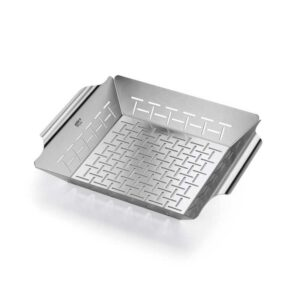 Weber Barbecue Deluxe Grilling Basket - Square (Stainless Steel) #6434