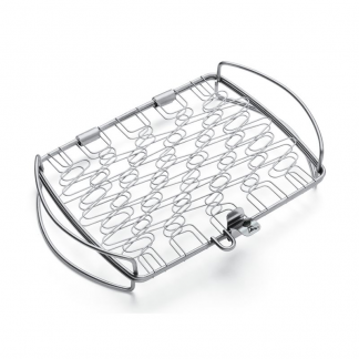 Weber Small Stainless Steel Grilling Basket