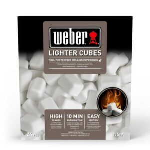 Weber Lighter Cubes 22 Piece Pack