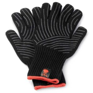 Weber Barbecue Premium BBQ Gloves L/XL (Black) #6670