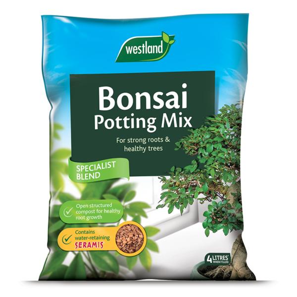 Westland Bonsai Potting Mix (Enriched with Seramis) 4 litre