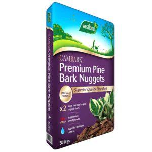 Westland Cambark Premium Pine Bark Nuggets (50 litres)