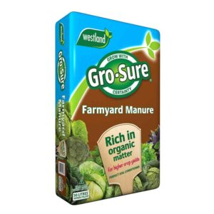 Westland Gro-Sure Farmyard Manure (50 litres)