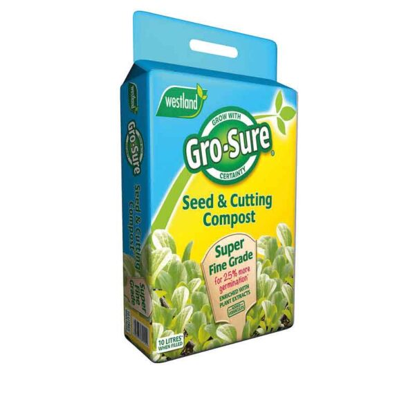Westland Gro-Sure Seed & Cutting Compost (10 litres)