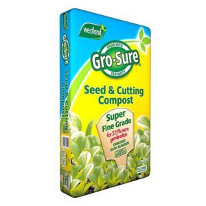 Westland Gro-Sure Seed & Cutting Compost (30 litres)