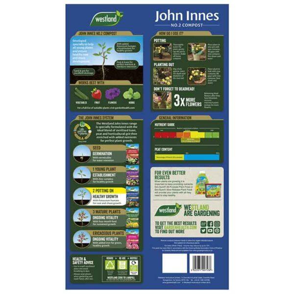 Westland John Innes No. 2 Potting-on Compost information