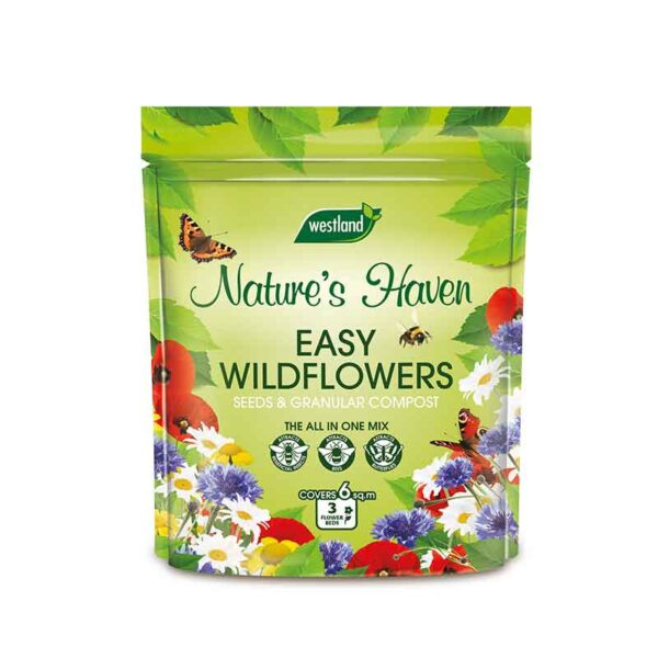 Westland Nature's Haven Easy Wildflowers Seeds & Granular Compost 1.5kg