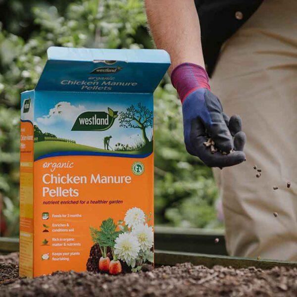 Westland Organic Chicken Manure Pellets 5kg