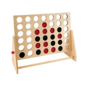 Wooden 4 In-A-Row Game
