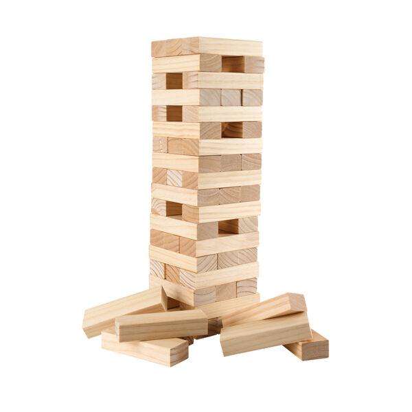 Wooden Tumbling Tower Blocks 800x800