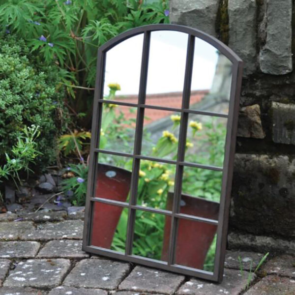 Woodlodge Abby Region Metal Garden Mirror