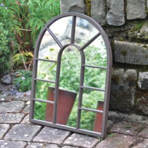 Woodlodge District Metal Garden Mirror