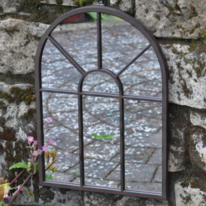 Woodlodge Provencial Metal Garden Mirror