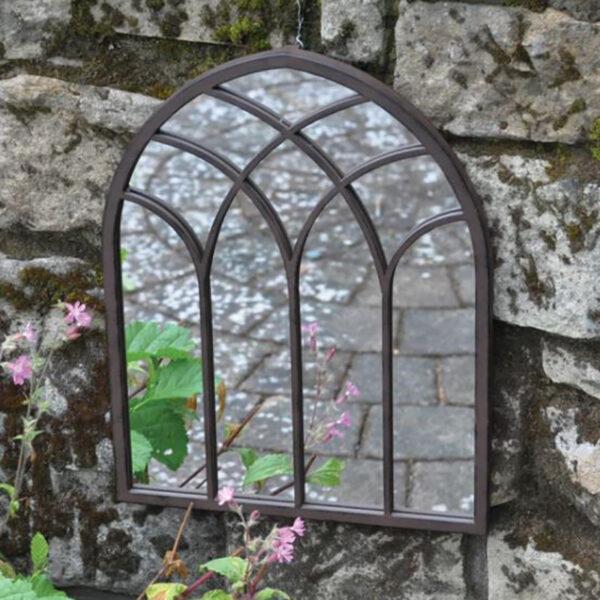 Woodlodge St Marys Metal Garden Mirror