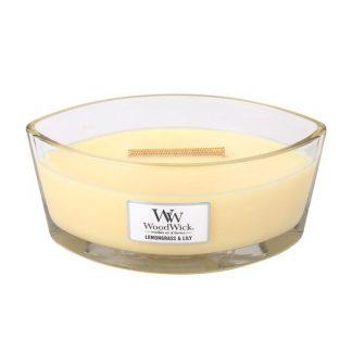 Woodwick Ellipse - Lemongrass & Lily