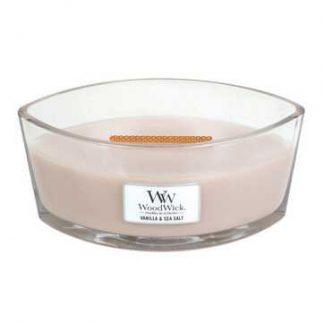 Woodwick Ellipse - Vanilla & Sea Salt