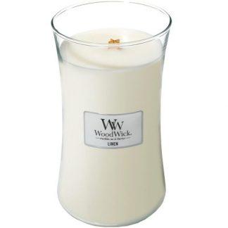 Woodwick Large Hourglass - Linen
