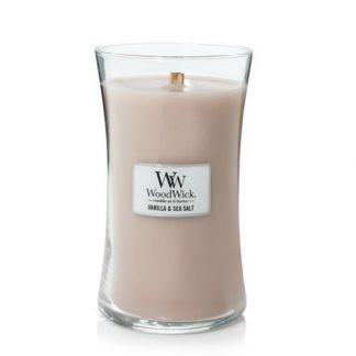 Woodwick Large Hourglass - Vanilla & Sea Salt