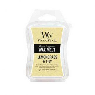 Woodwick Wax Melt - Lemongrass & Lily