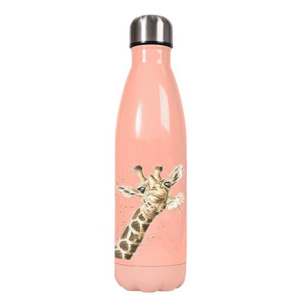 Wrendale Designs Water Bottle - Giraffe (500ml) 1