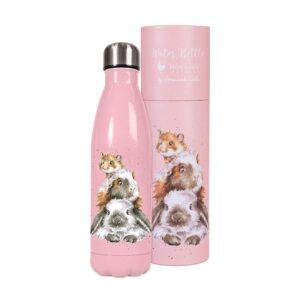 Wrendale Designs Water Bottle - Guinea Pig (500ml)