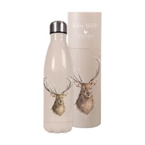 Wrendale Designs Water Bottle - Stag (500ml)