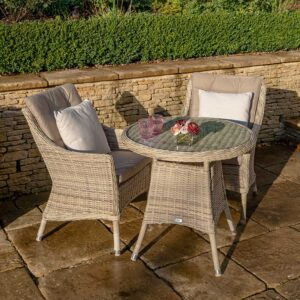 Bramblecrest Ascot Bistro Set with 80cm Table