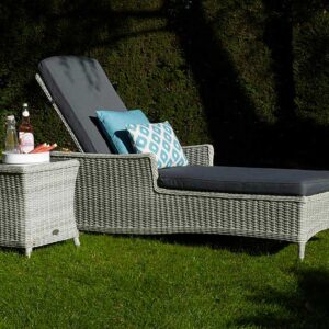 Bramblecrest Monterey Sun-Lounger with Coffee Table