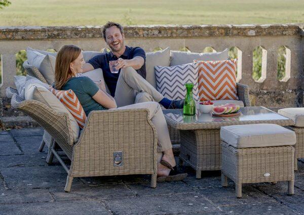 Bramblecrest Oakridge Reclining Modular Sofa Set