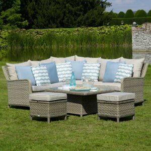 Bramblecrest Modular Sofa Set for Casual Dining