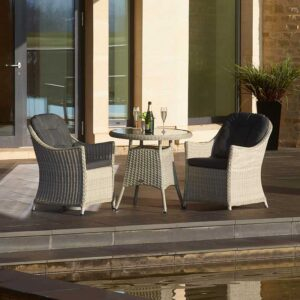 Bramblecrest Monterey Bistro Set with 80cm Round Table