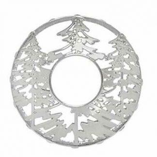 Yankee Candle Illuma-Lid Candle Topper - Winter Trees